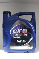 Elf Evolution 900 NF 5w40 (4 л)