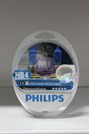 "Лампа HB4 12V 51W P22d Ultimate White Light DiamondVision ""Philips"" (Компл.2шт)"